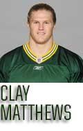 04. Clay Matthews (#52) Memorabilia