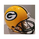 Packers Authentic Full Size Helmet Autographed by Davante Adams (#17)