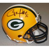 Packers Mini Helmet Autographed by Clay Matthews (#52)