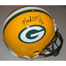 Packers Helmet Autographed by Nick Collins (#36)