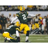 "8""x10"" Photo Autographed by Mason Crosby (#2)"