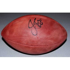 Authentic NFL Football Autographed by Jermichael Finley (#88)