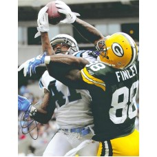"16""x20"" Photo ""All Wrapped Up"" Autographed by Jermichael Finley (#88)"