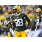 "11""x14"" Photo ""Looking after the Play"" Autographed by Jermichael Finley (#88)"