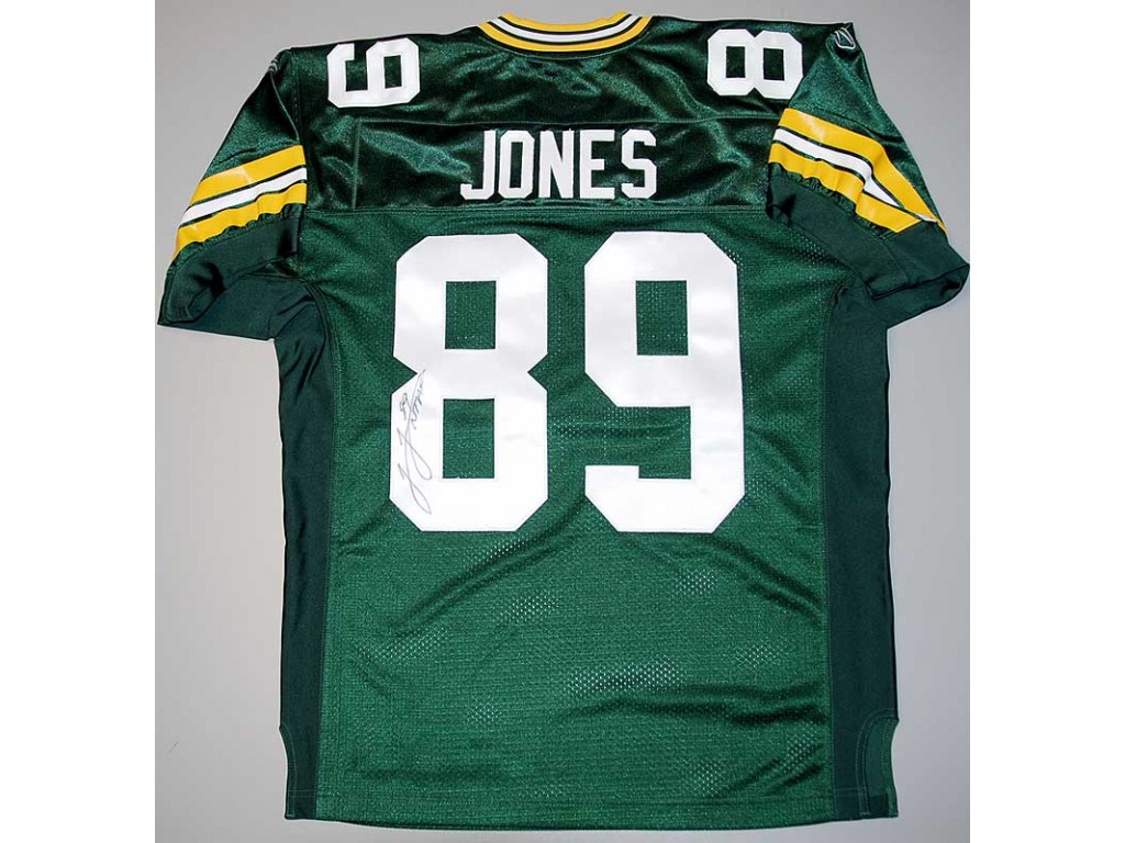 Authentic Style Packers Home Jersey Autographed by James Jones ( 89) ed0ff7102