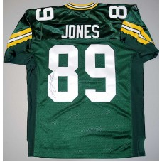 Authentic Style Packers Home Jersey Autographed by James Jones (#89)