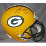 Packers Full Size Authentic Helmet Autographed by Aaron Rodgers
