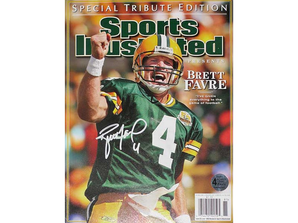 wholesale dealer 57a55 b1bb6 Brett Favre (Alum #4)