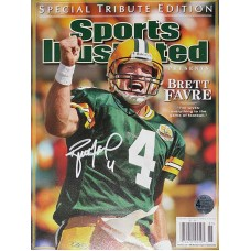 Sports Illustrated Favre Tribute Edition Signed by Brett Favre