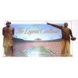 The Legend Continues Poster Autographed by Brett Favre (#4)