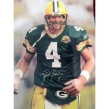 "16"" x 20"" Photo ""Taking the Field"" Autographed by Brett Favre (#4)"