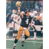 "16"" x 20"" Photo ""The Kid"" Autographed by Brett Favre (#4)"