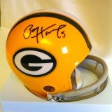 Packers Mini Helmet Autographed by Paul Hornung (Alum #5)