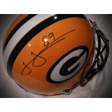 Full Size Authentic Packers Helmet Autographed by James Jones (#89)