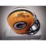 Packers Mini Helmet Autographed by Jordy Nelson (#87)