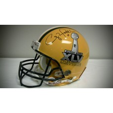 Packers Authentic Super Bowl XLV Helmet Autographed by Clay Matthews (#52)