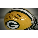 "Full Size Authentic ""Revolution Speed"" Packers Helmet Autographed by Clay Matthews (#52)"