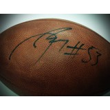 Authentic NFL Football Autographed by Nick Perry (#53)