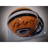Packers Mini Helmet Autographed by Nick Perry (#53)