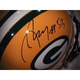 Full Size Authentic Packers Helmet Autographed by Nick Perry (#53)