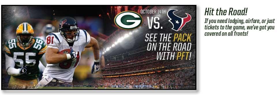 Green Bay Packers vs. Houston Texans Tickets