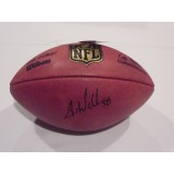 Authentic NFL Football Autographed by Tramon Williams (#38)