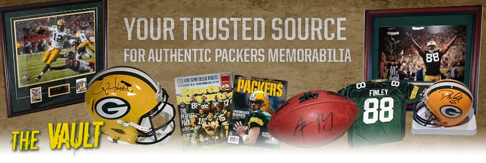 Authentic Packers Memorabilia from Packer Fan Tours!