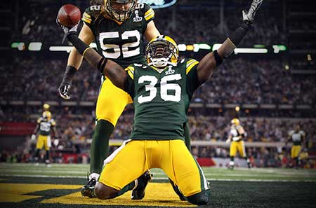 Nick Collins - Green Bay Packers Safety - Super Bowl XLV