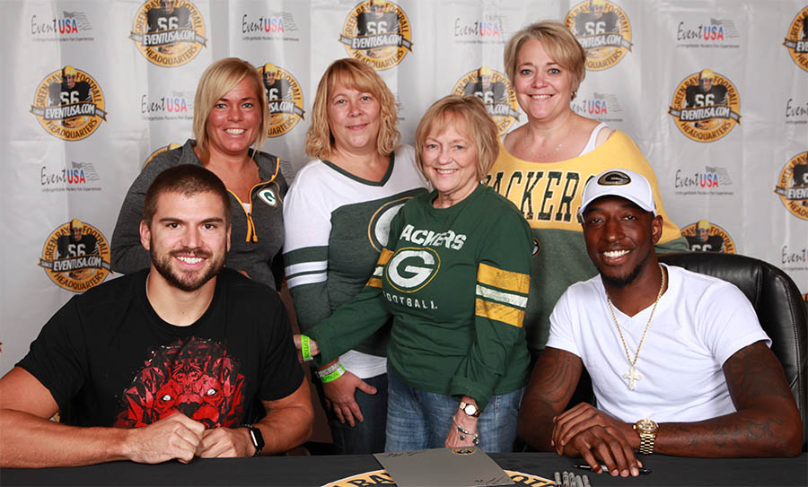 meet packers player, get packers autographs