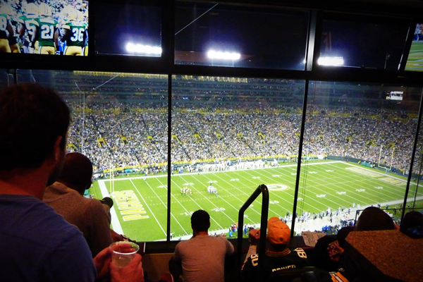 Private Suites at Lambeau Field
