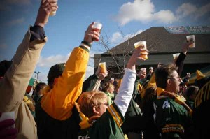 Green Bay Packers Tailgate Party!