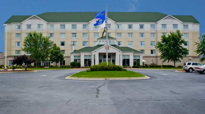 The Hilton Garden Inn in Green Bay Wisconsin