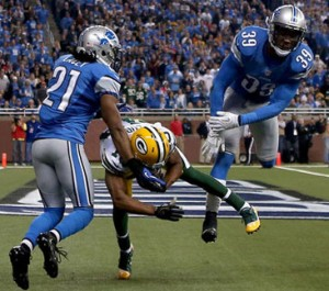 Randall Cobb Game Winning Catch @ Lions 2012