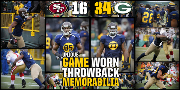 Used Packers Throwback