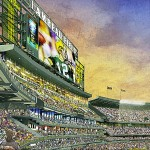 South Endzone Seating Artist Rendering