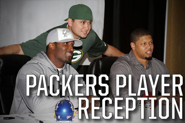Packers Player Reception from Event USA