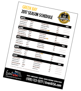 photo regarding Green Bay Packers Printable Schedule referred to as 2017 Environmentally friendly Bay Program Introduced Printable Agenda In just