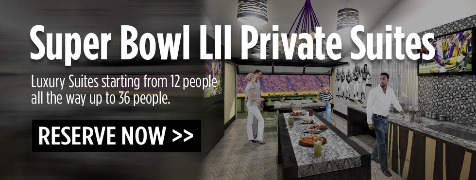 Super Bowl LII Luxury Suites Minneapolis, MN