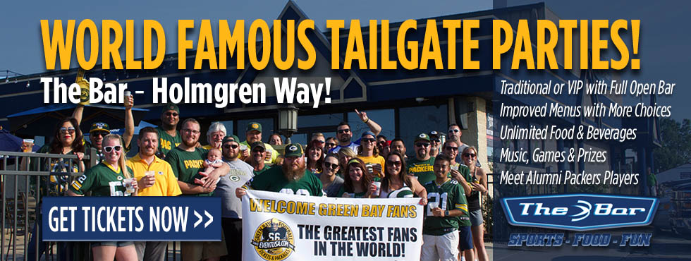 green bay packers tailgate party